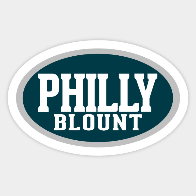 Philly Blount Sticker