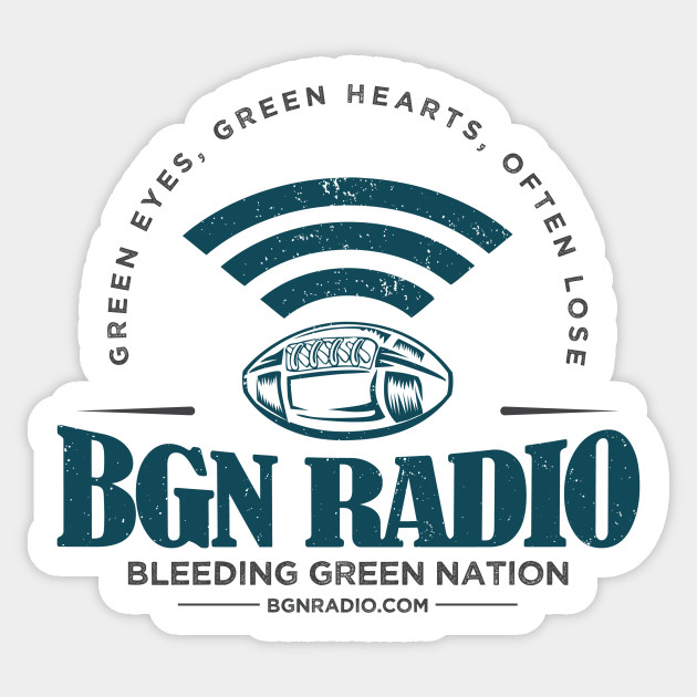 BGN Radio Sticker