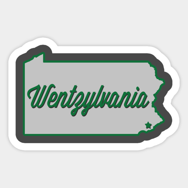 Wentzylvania Sticker