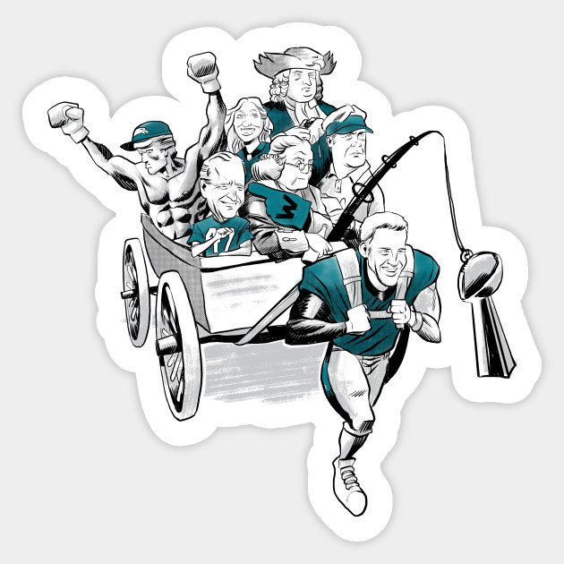 Wentz Wagon Sticker