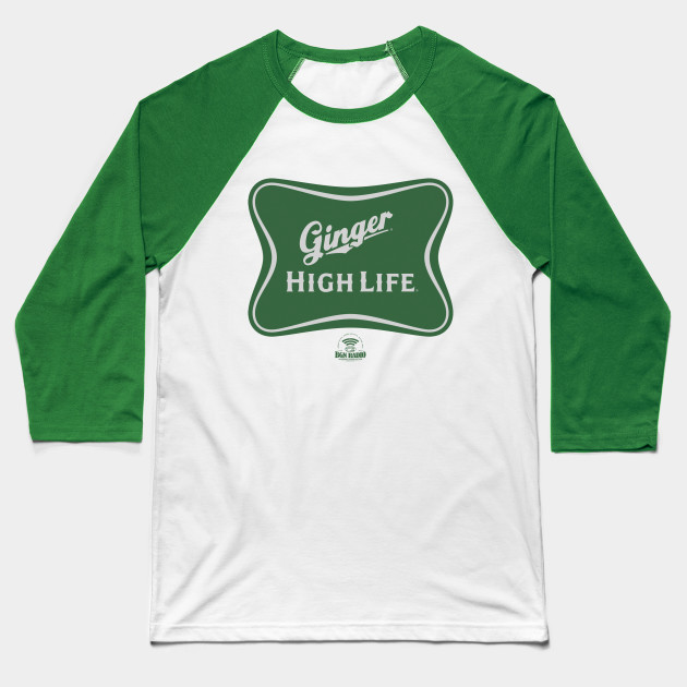 Ginger High Life Baseball Tee