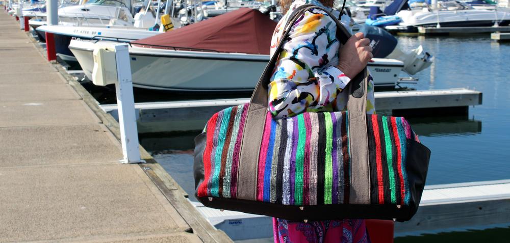 Ashanti Design Weekender Bag