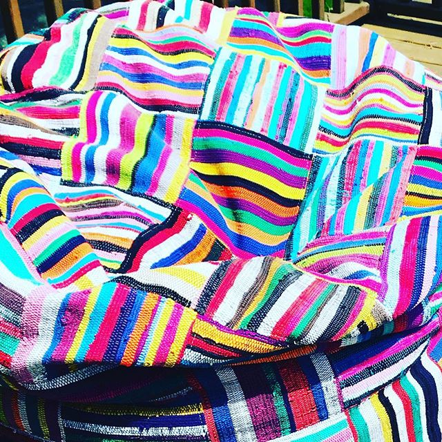Coñorfuñ#ashanti #bori Bori beanbag#upcycled#fun  #africafrolic.com