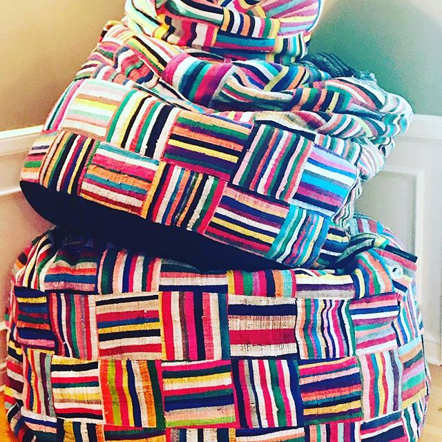 #upcycled #colorful #ashanti#big Bori Bori #bori Bori#beanbags#creative #playful #africafrolic.com