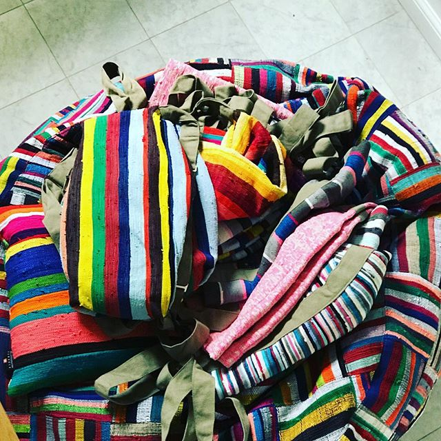 Everything #ashanti#bags#beanbags#upcycled colorful#africa.com