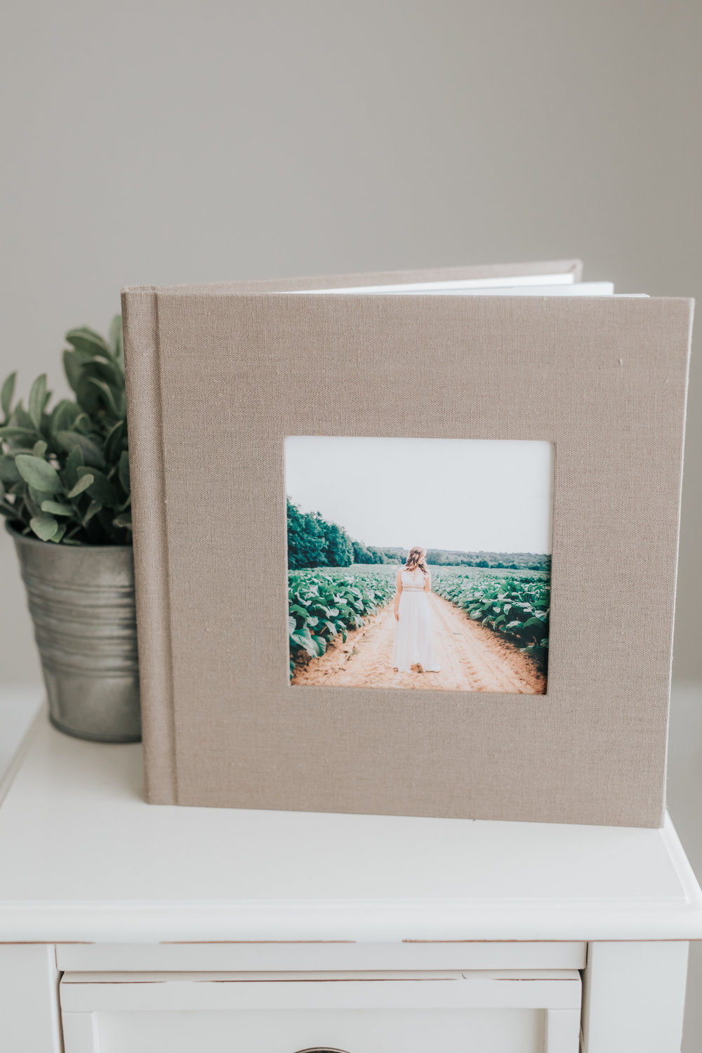 Album   Upgrade to 12x12 album for $150  Panoramic specially designed spreads wth thick rigid lay flat pages