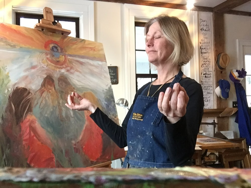 Letting stillness speak in painting