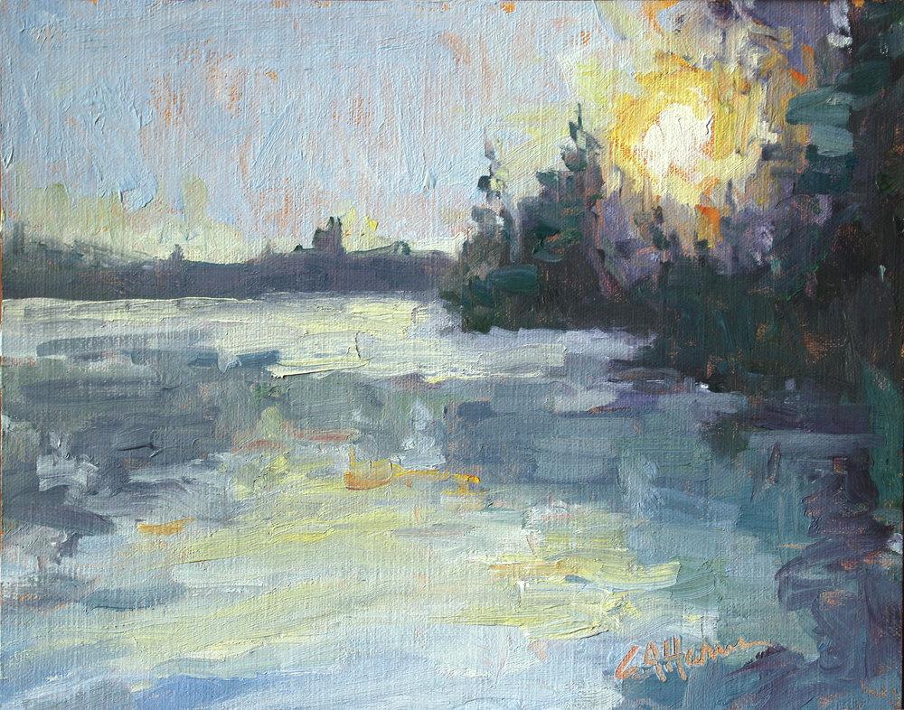 Sunrise on Brantingham Lake*