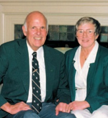 Gordon and Norma Guyer. Photo courtesy of MSU Department of Community Sustainability.