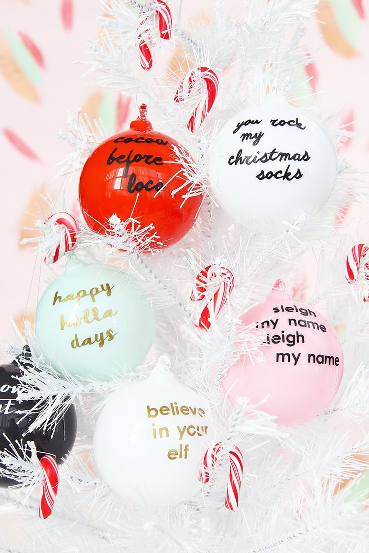 Christmas name ornaments - Ornaments Are Easily The Best Part Of Any Tree We Know There Are So Many