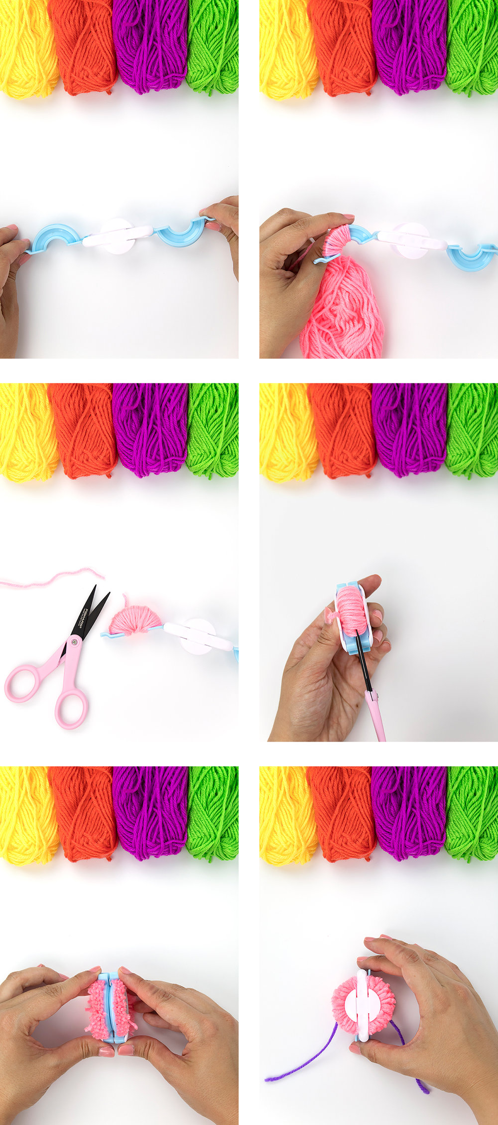 These pom pom collars are so cute, even cats can't help but love them! They're easy to make and fun to wear, so grab your pom-pom maker and your yarn. We're about to get crafty! Click for the full DIY.
