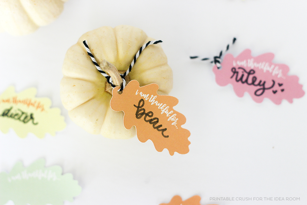 Since there isn't tons of time left for setup, I wanted to create a roundup of the very best, most colorful printables and paper crafts for your Thanksgiving or Friendsgiving dinner. These are quickly and easy to create- most projects require only a printer, or items you're likely to have on-hand!