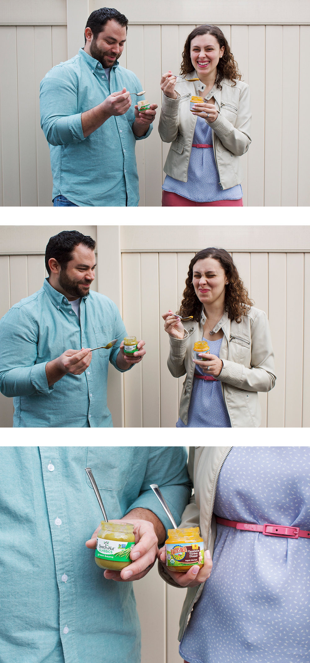 We're having a baby! And we are so stinking excited about it. Read more about our pregnancy announcement and baby food photoshoot by clicking the photo!