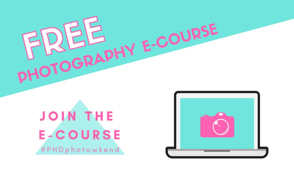 free photography e-course