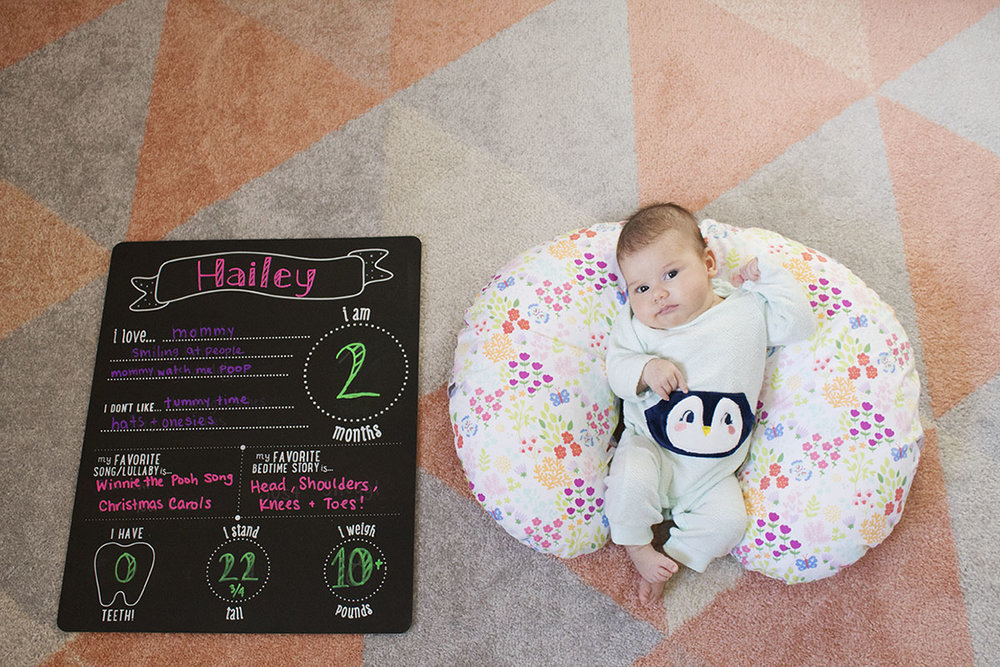 Hailey is now 2 months old!! Click through for the full update.