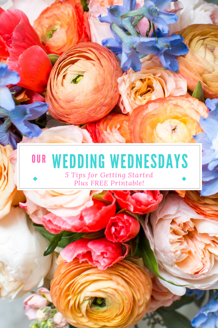 After trying out a designated day for wedding planning, I realized it was a great way to get the wedding ball rolling. It really helped to get my fiance involved without having to nag him. Want to try it out? Here are my 5 tips to make your first meeting a success- plus a free printable to get you started! #weddingplanning
