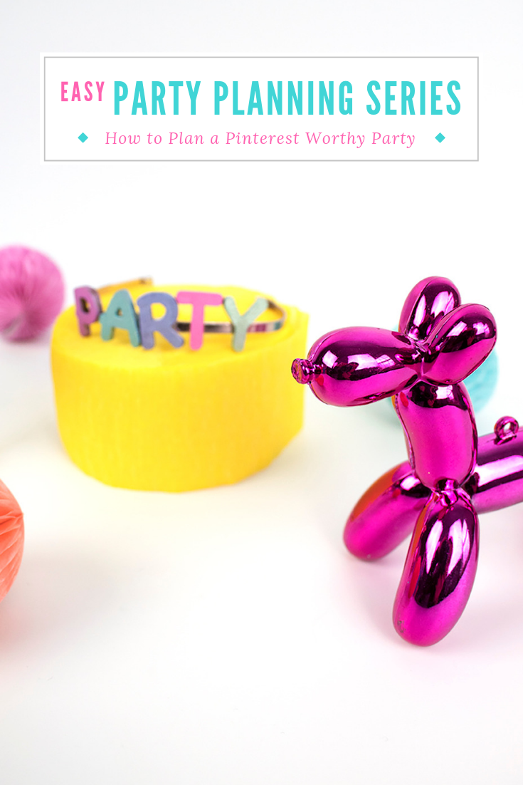 With a few pointers, you can throw the party of your dreams with ease, whether it's a bridal shower, baby shower, or a birthday party! Just follow these steps, and don't forget to sign up for your FREE Anatomy of a Pinterest Worthy Party guide. #partyplanning #partyideas #partyplanningideas