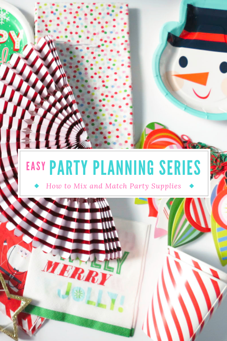 This Christmas I decided to challenge myself by creating a completely unique party scheme using easy to find, store bought supplies- and you can too! #christmasparty #partyplanning #holidayparty