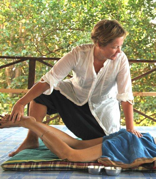 yoga massasje yogamassasje oslo Guro Dalby