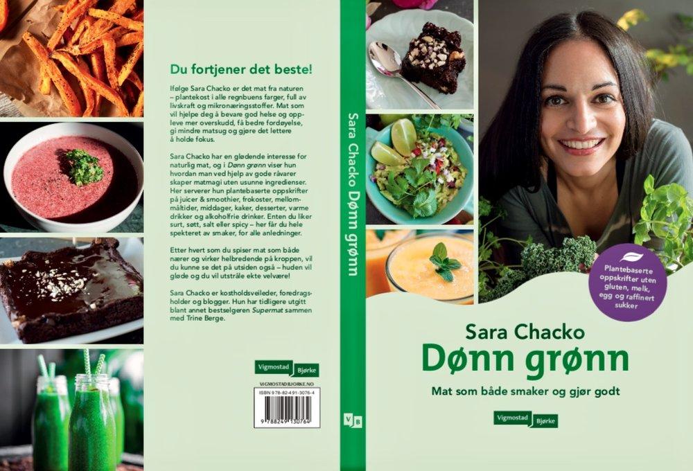 Dønn Grønn av Sara Chacko Vitales veganer vegansk mat plantebasert oppskrifter