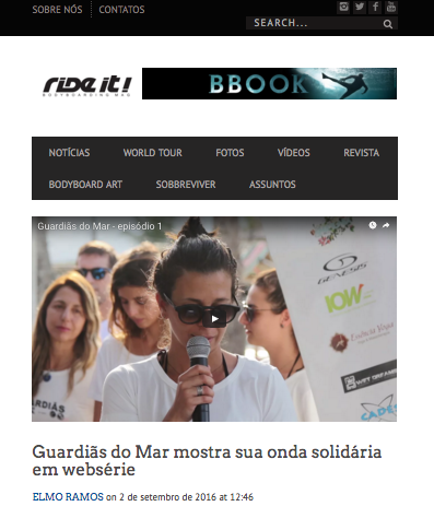 Ride it Guardias do mar