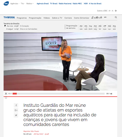 Tv Brasil Guardias do Mar