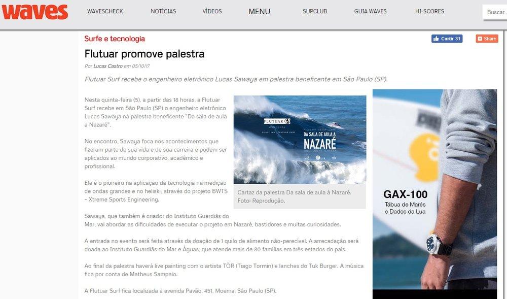 Palestra Beneficente IGDM Guardias do Mar