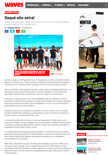 WSL Guardias do Mar Beach Cleaning