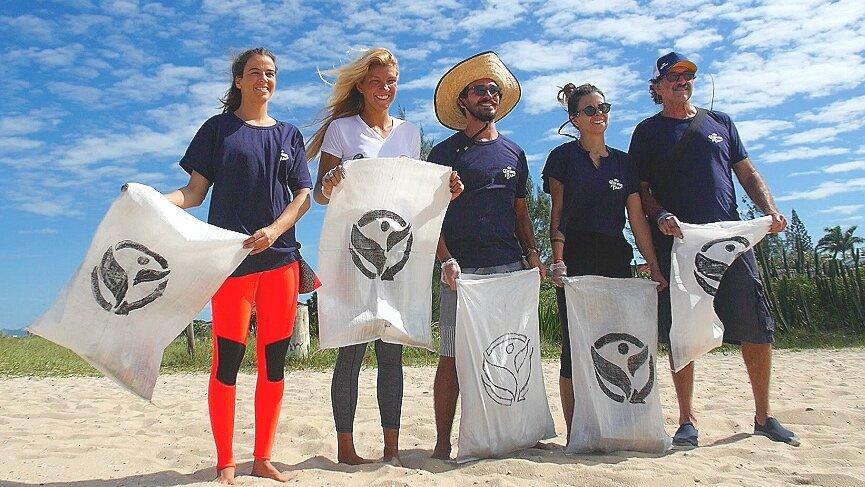 BEACH CLEANING - IGDM ENGAJA ATLETAS, SHAPERS E EMPRESÁRIOS NA LIMPEZA DE PRAIAS