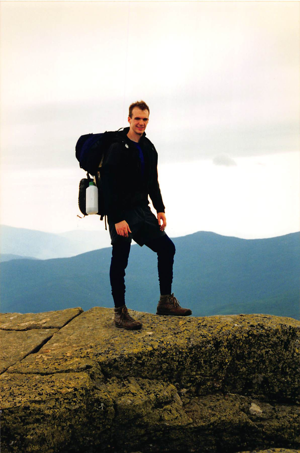 Hiking The Presidential Range in New Hampshire