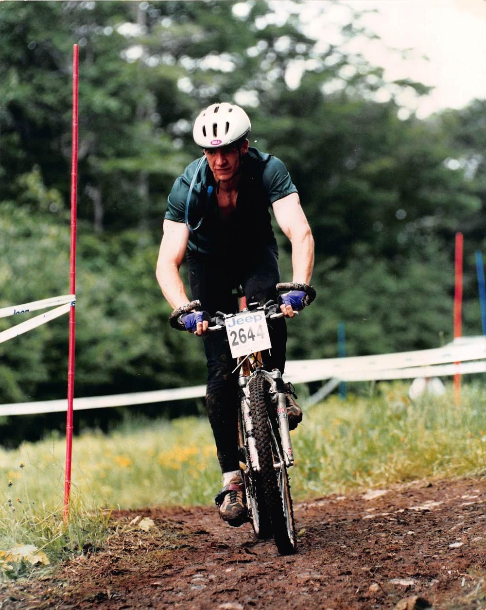 First Mountain Bike Race