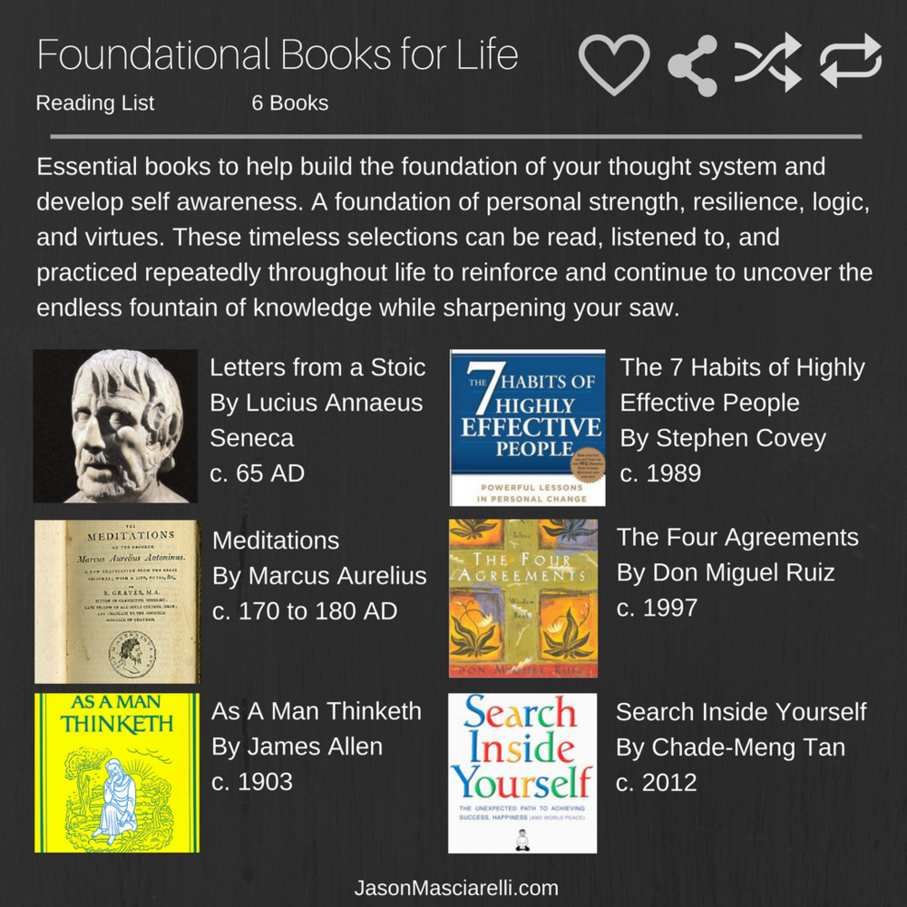 Foundational Books for Life