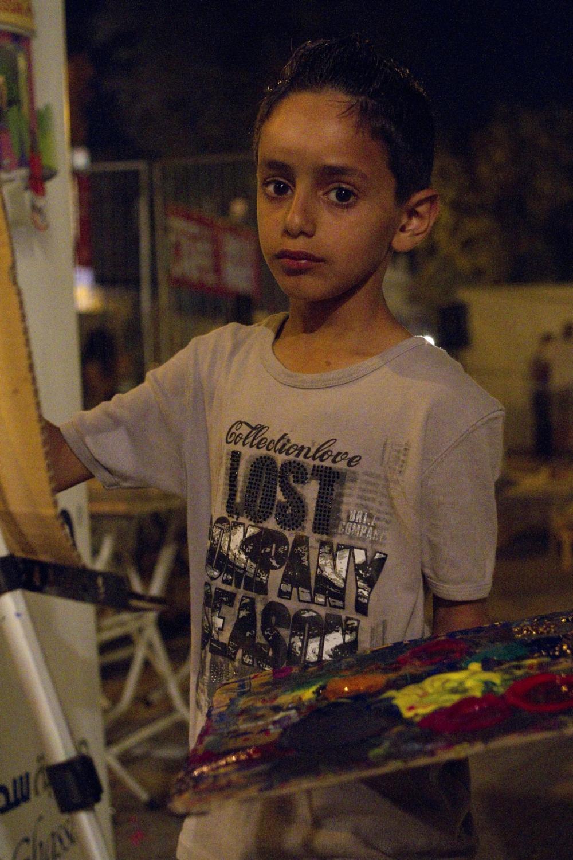 Art fair. Amman, Jordan, 2011