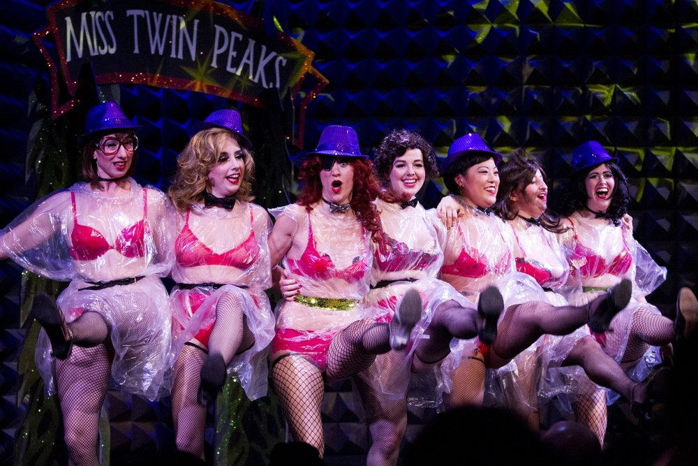 """Miss Twin Peaks,"" 2015. Shot for  BKLYNR ."