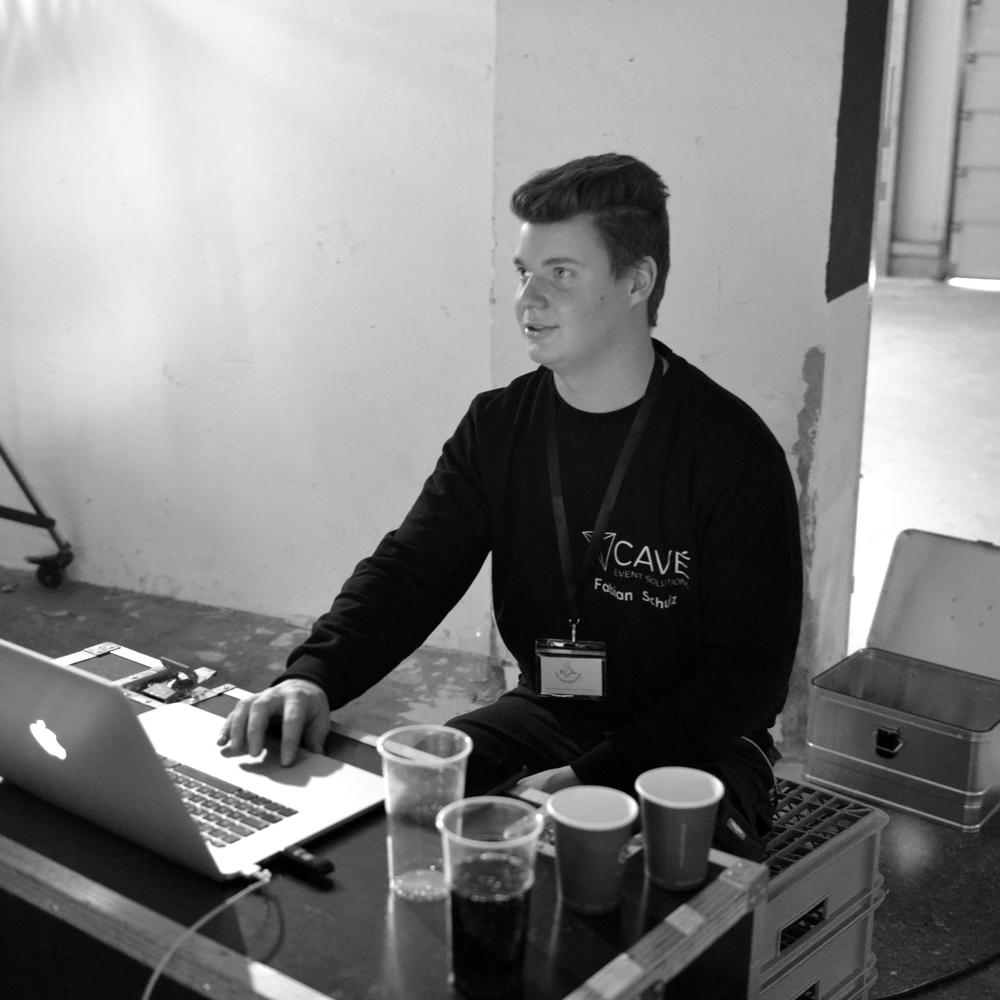 Gaffer, Technical Supervisor Fabian Schulz