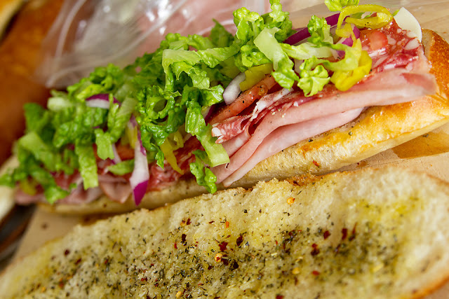 Lady by the Bay - Italian Hoagies Recipe