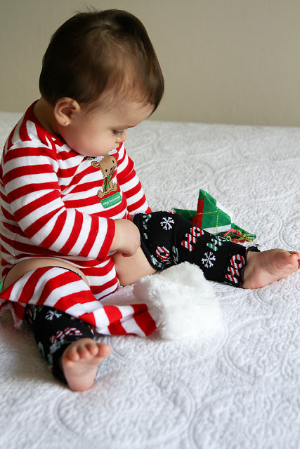 Lady by the Bay - DIY Baby Holiday Leg Warmers