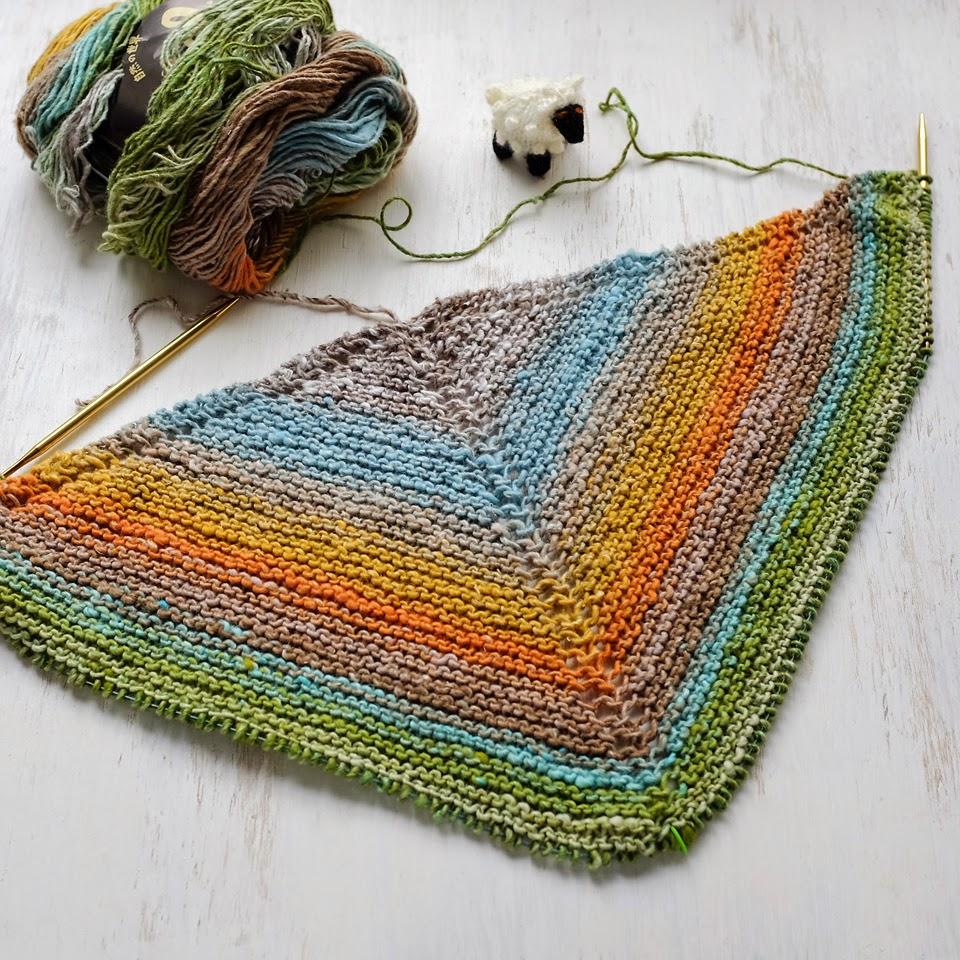 Lady by the Bay - Knitted Mara Shawl