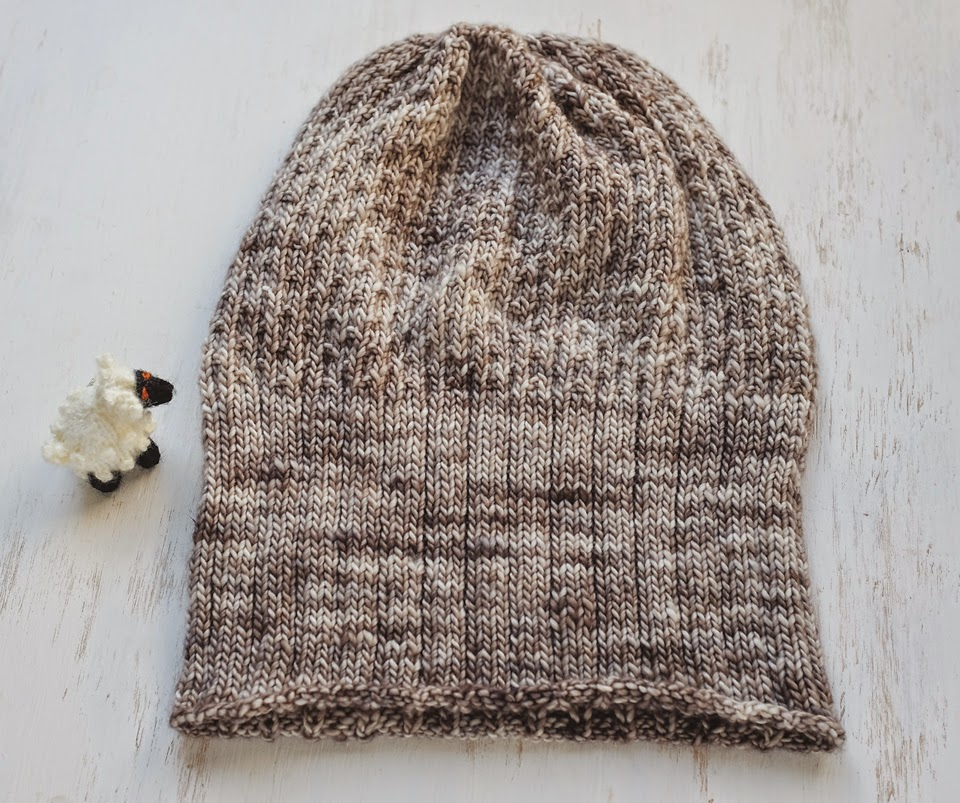 Lady by the Bay - Knitted Madelinetosh Honey Hat