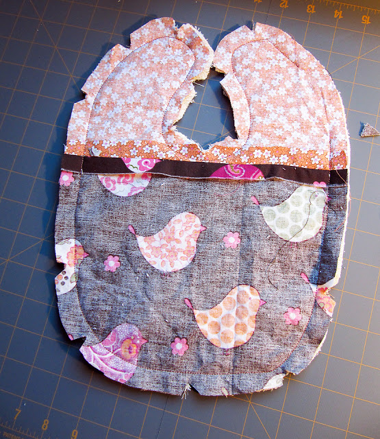 Adorable Custom Baby Bibs - A Tutorial — Lady By The Bay