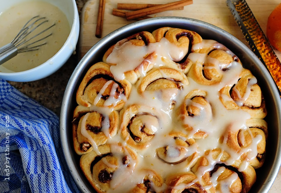 Lady by the Bay - Homemade Cinnamon Rolls Recipe
