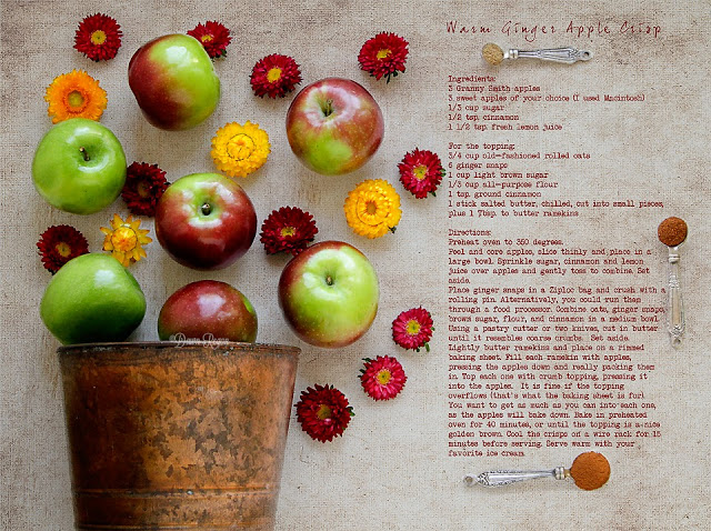 Warm Ginger Apple Crisp Recipe