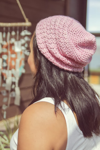 Lady by the Bay - Crocheted Slouch Hat Pattern