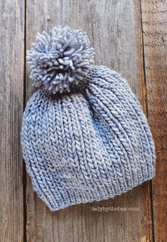 Knitting Joining Yarn In The Round : Anthropologie inspired knitted hat pattern — lady by the bay