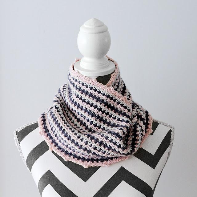 Thistle Cowl Crochet Pattern