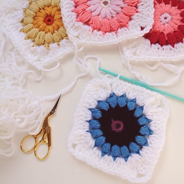 Lady by the Bay - Crocheted Granny Squares