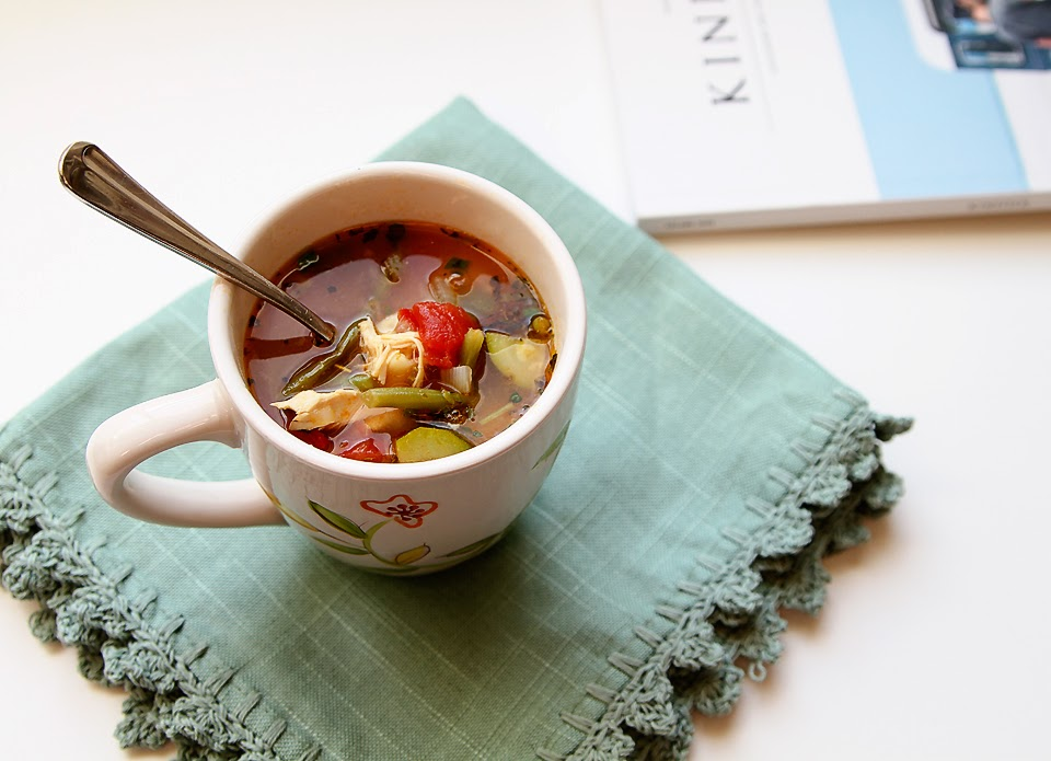 Lady By The Bay - Italian Chicken Vegetable Soup Recipe