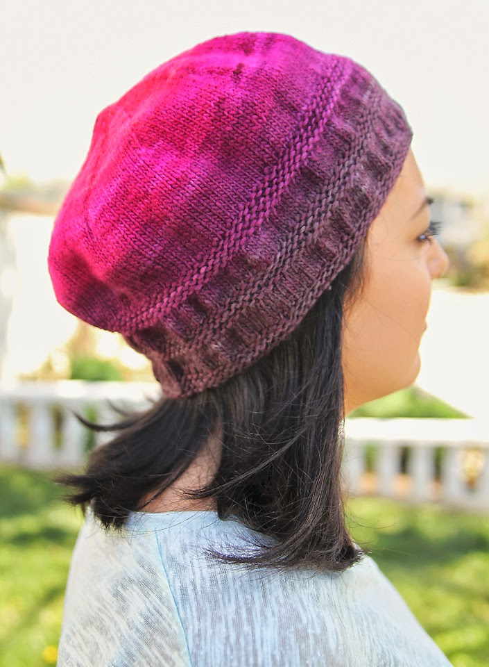 Lady by the Bay - Green Gables Knits Diana's Hat