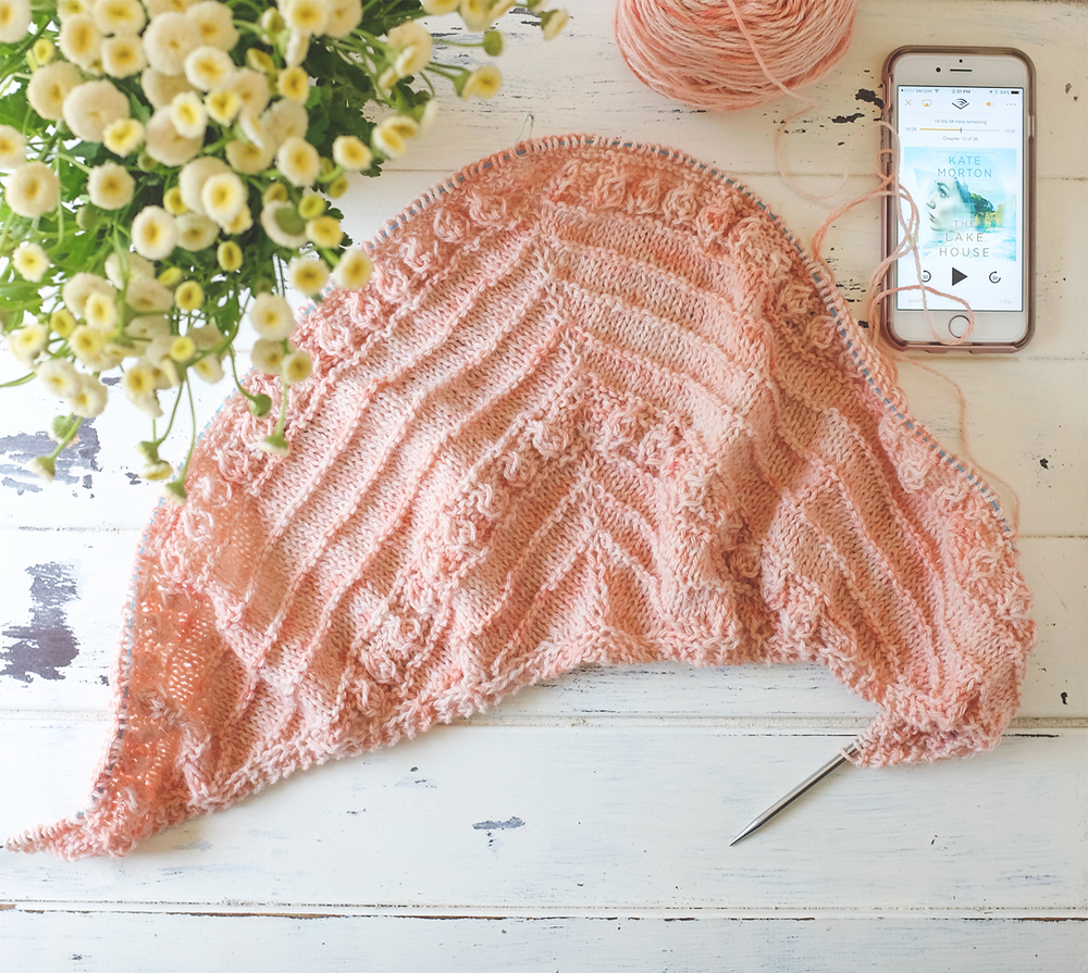 Lady by the Bay - Whispering Island Shawl