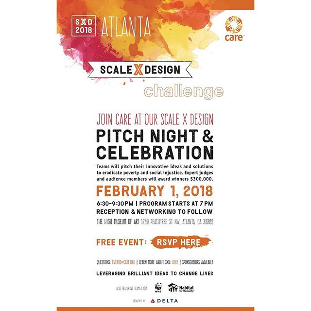 There's a new batch of innovative companies being made in Atlanta.  Be the first to see it for FREE! Register to attend #LinkInBio  @careorg @amplify4good #Care #Innovation #Impact